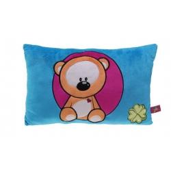 Barevný polštářek s medvídkem
