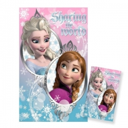 Deka s motívom Frozen