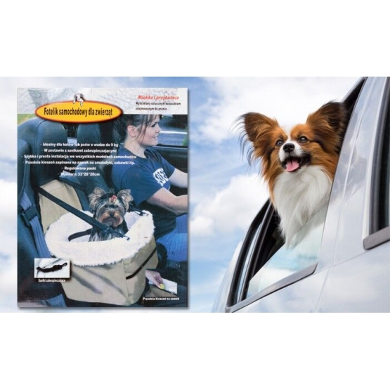 Autosedačka pro zvířata