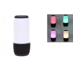 LED bluetooth reproduktor černý