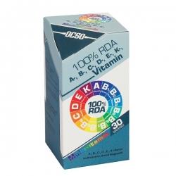 Ocso 100% RDA A, B, C, D, E, K vitamín 30 tbl