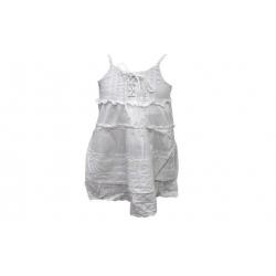 Dívčí šaty bílé