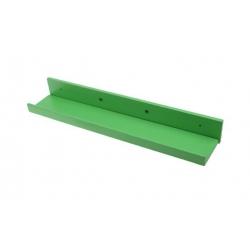 Dřevěná police zelená