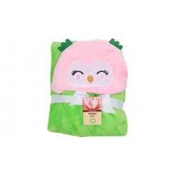 Dětská deka zvířátková Happy Baby vzor 3