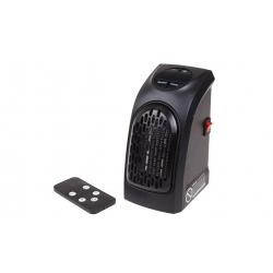Teplovzdušný ventilátor do zásuvky s ovladačem 400 W