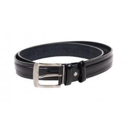 Kožený pásek černý var.19