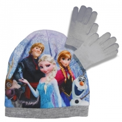 Set čiapka a rukavice Frozen