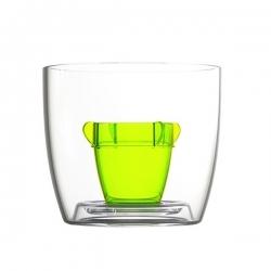 4 Plastové poháriky Bomber cup