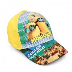 Dětská kšiltovka Mimoni - Cooler than you - žlutá