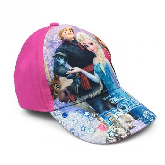 Dětská kšiltovka Frozen - růžová