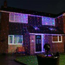 Laserová dekorační lampa