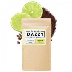 DAZZY Kávový peeling s citrusy 200 g