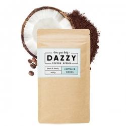 DAZZY Kávový peeling s kokosem 200 g