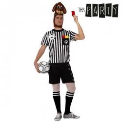 Kostým pro dospělé Th3 Party 5275 Podlý rozhodčí futbalu