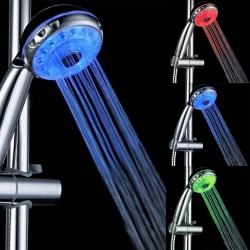 Sprchovacia hlavica s LED podsvietením