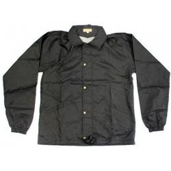 Pánská bunda s kapucí – černá