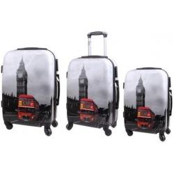 Sada 3 kufrů (Big Ben Bus)