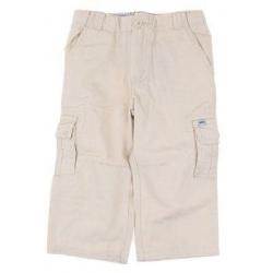 Plátěné kalhoty béžové vel. 74