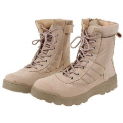 Boty vysoké kožené vel. 41