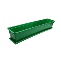 Truhlík s podmiskou zelený 80