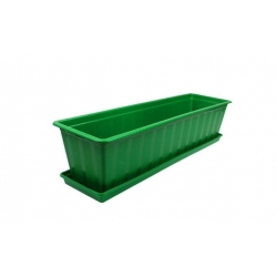 Truhlík s podmiskou zelený 60