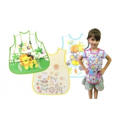 Dětský plastový bryndák - zástěra