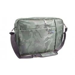 Brašna/batoh na notebook zelený maskáč