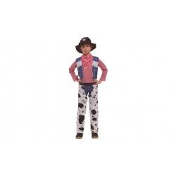 Dětský kostým kovboj vel. L