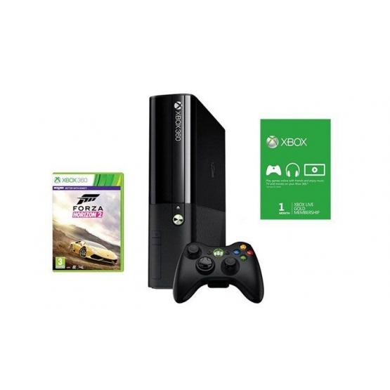 Herní konzole XBOX 360 500GB + Forza Horizon 2 + 1 M Xbox Live