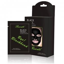 Čierna zlupovacia maska 10ks