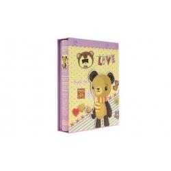Fotoalbum LOVE na 200 fotografií fialová