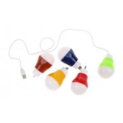 LED USB žárovka