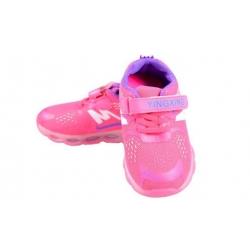 Dětské tenisky blikající růžovofialové vel.30