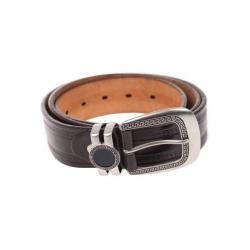 Kožený pásek hnědý var.13