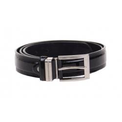 Kožený pásek černý var.34