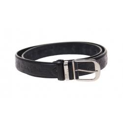 Kožený pásek černý var.35