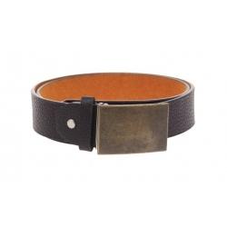 Kožený pásek hnědý var.25