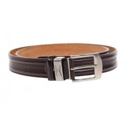 Kožený pásek hnědý var.26