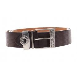 Kožený pásek hnědý var.29