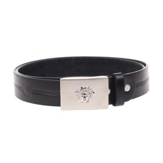 Kožený pásek černý var.42