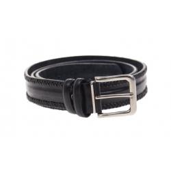 Kožený pásek černý var.44