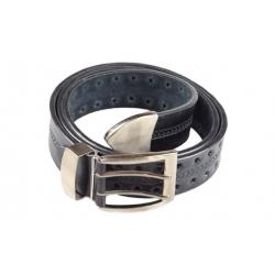 Kožený pásek černý var.1