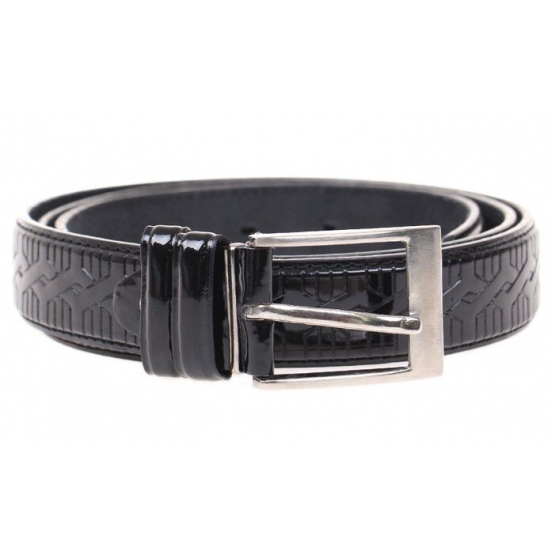 Kožený pásek černý var.5