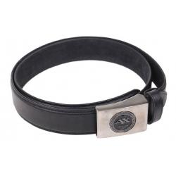 Kožený pásek černý var.8