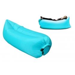 Nafukovací pytel Lazy Bag světle modrý