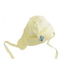Čepice kojenecká žlutá