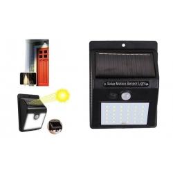 Solární světlo s detektorem pohybu 30 LED