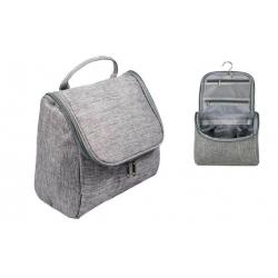 Kosmetická taška závěsná šedá