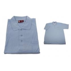 Pánské polo tričko modré XXL