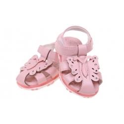 Dětské sandálky blikající růžové vel.22